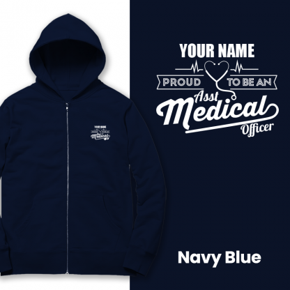 proud to be an amo navy blue