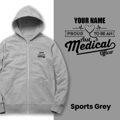 proud to be an amo sports grey
