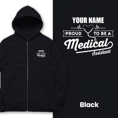 proud to be a medical assistant black