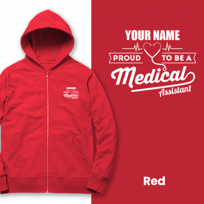 proud to be a medical assistant red
