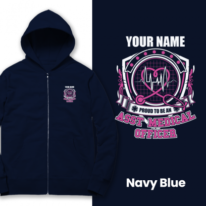 proud to be an amo v2 navy blue
