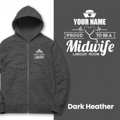 proud to be a midwife labour room dark heather