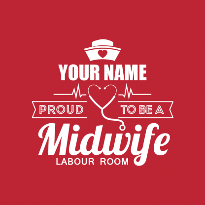 proud to be a midwife labour room image 1
