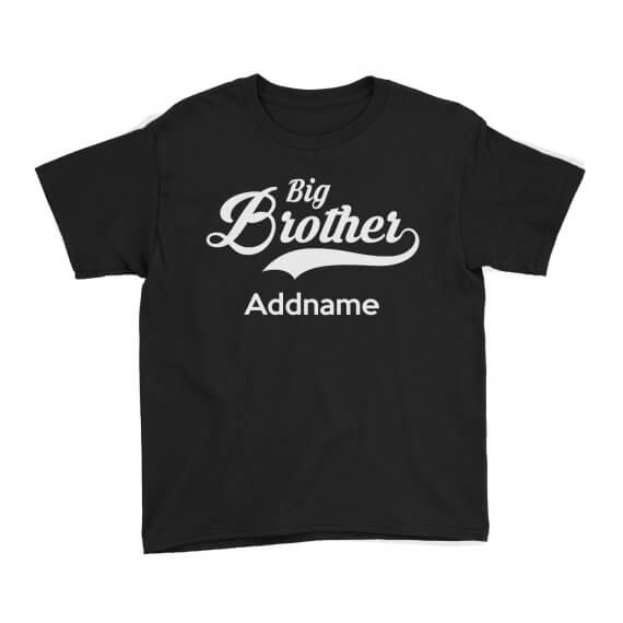 Kids-Tee-Retro-Family-Big-Brother-Addname-Black