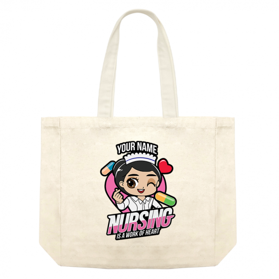 Chibi Nurse freehair WOH – shopping bag