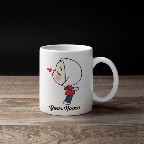 Cute Female Liver Pool Fans Mug