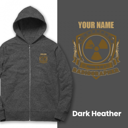 proud to be a radiographer v1 dark heather