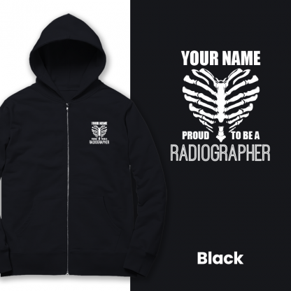 proud to be a radiographer v2 black