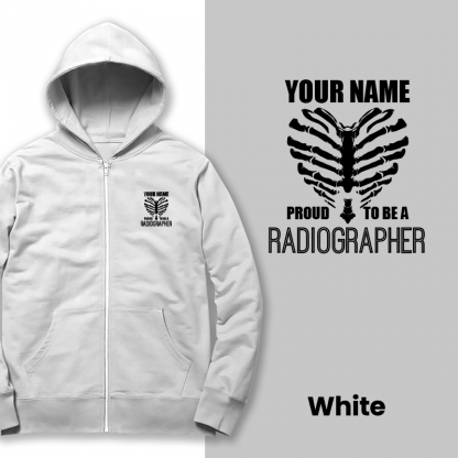 proud to be a radiographer v2 white