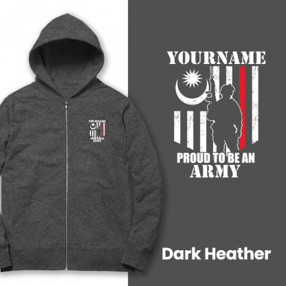 proud to be an army dark heather