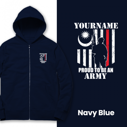 proud to be an army navy blue