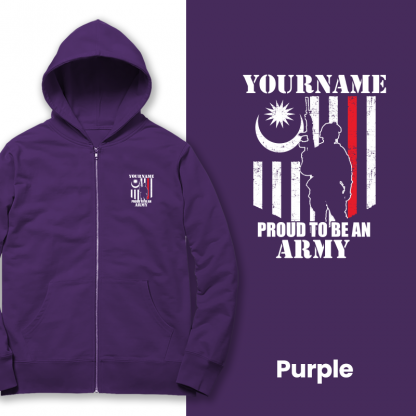 proud to be an army purple