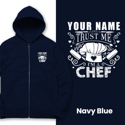 trust the chef navy blue