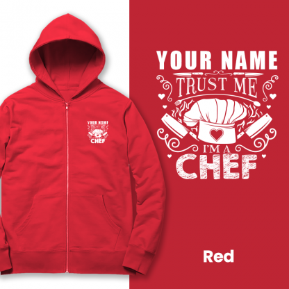 trust the chef red