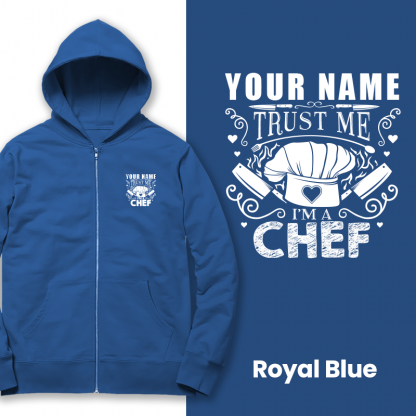 trust the chef royal blue