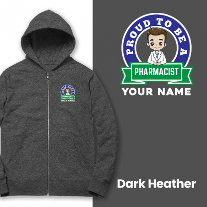 proud to be a pharmacist dark heather