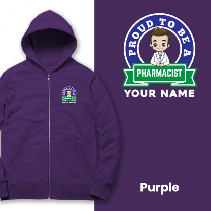 proud to be a pharmacist purple