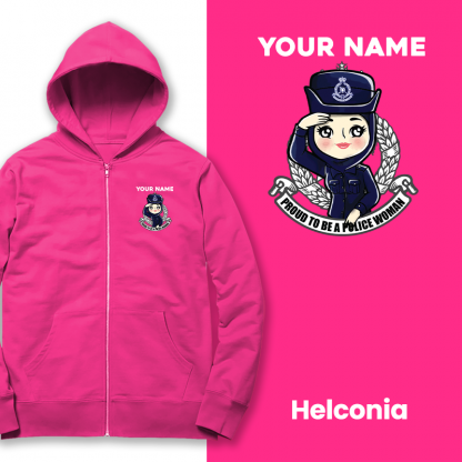 chibi police woman helconia