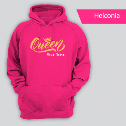 queen design with name helconia