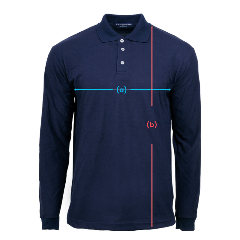 size spec Polo Long NHB2440