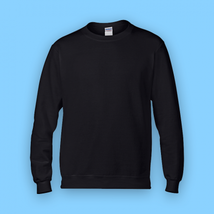 sweater black front