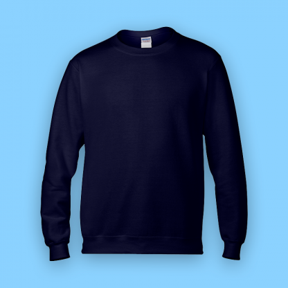 sweater navy front