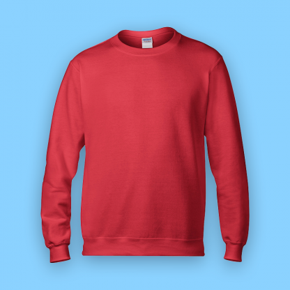 sweater red front