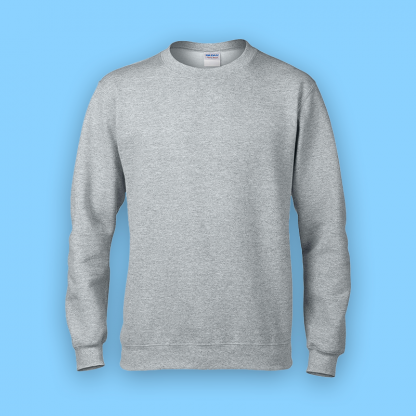 sweater sport grey front