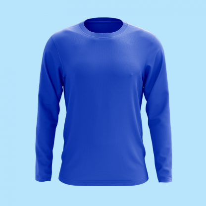 Long sleeve royale front