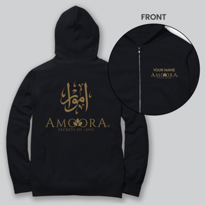 amoora front and back zip