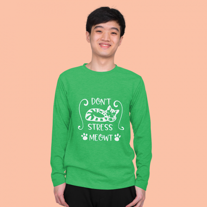 Dont Stress Meow Long Sleeve 3