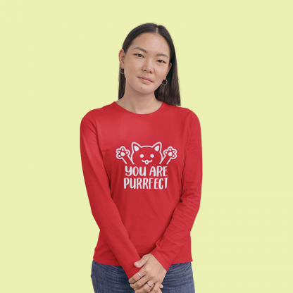 You Are Purrfect long sleeve