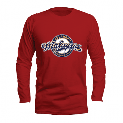 Go For Gold LS Cotton red