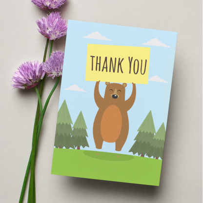 thank you card 8