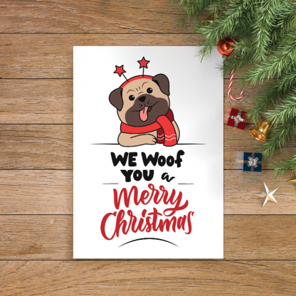 19 We Woof You Merry Christmas